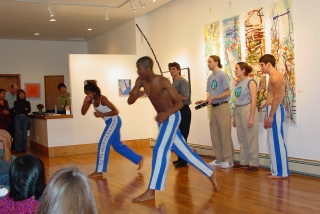 Capoeira Angola Performance by Afro Brazil Arts.