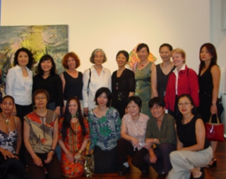 "AAWAA Participants of ""Talking Hands"" at A.I.R. Gallery, July 2004"